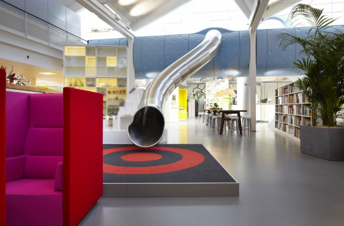 LEGO'S COLORFUL DENMARK office space
