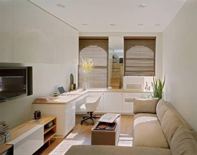 Small living room studio.