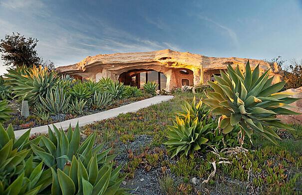 DICK CLARK'S FLINSTONES INSPIRED HOME IN MALIBU, CALIFORNIA
