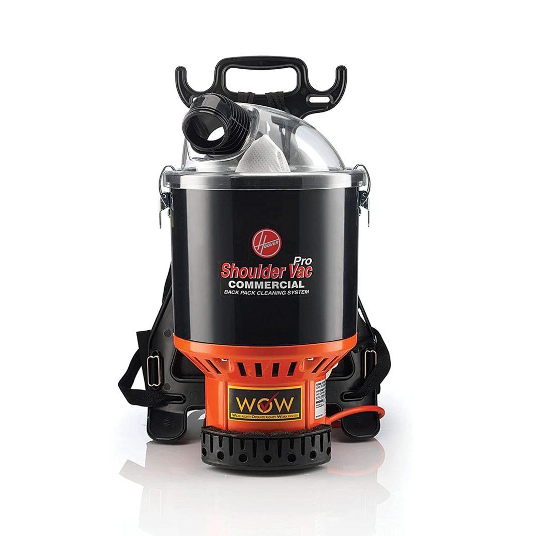Hoover Commercial Bagless Backpack Vacuum Cleaner