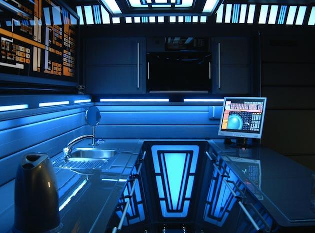 Star Trek style small kitchen area